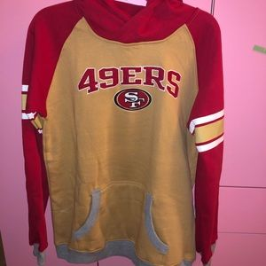 San Francisco 49ers Youth Hoodie Size XL